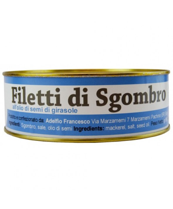 Filetti di Sgombro in Latta da 1 KG