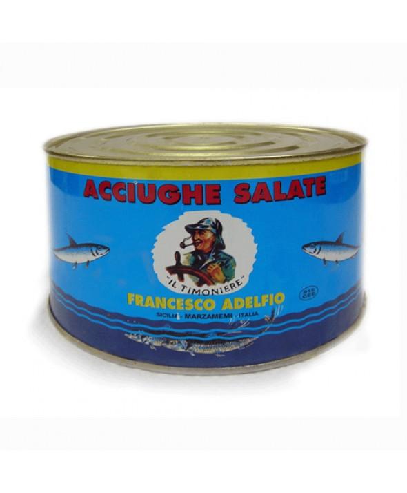 Acciughe Salate in latta da 5 Kg