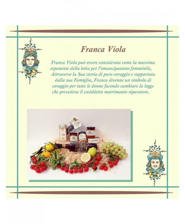"""CONFEZIONE REGALO - """"Franca Viola"""""""