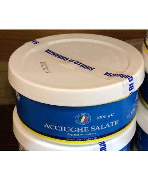Acciughe Salate in confezione da 850 gr