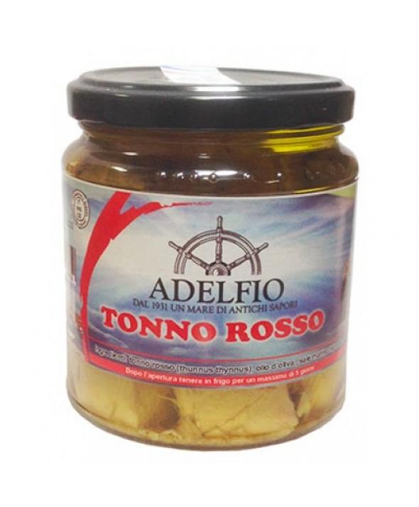 Tonno Rosso all'olio di oliva in vaso