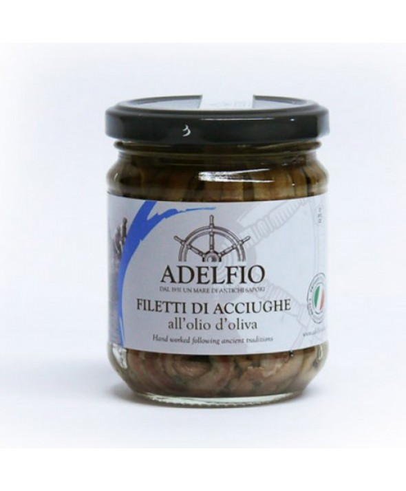 Filetti di Acciughe all'olio di oliva