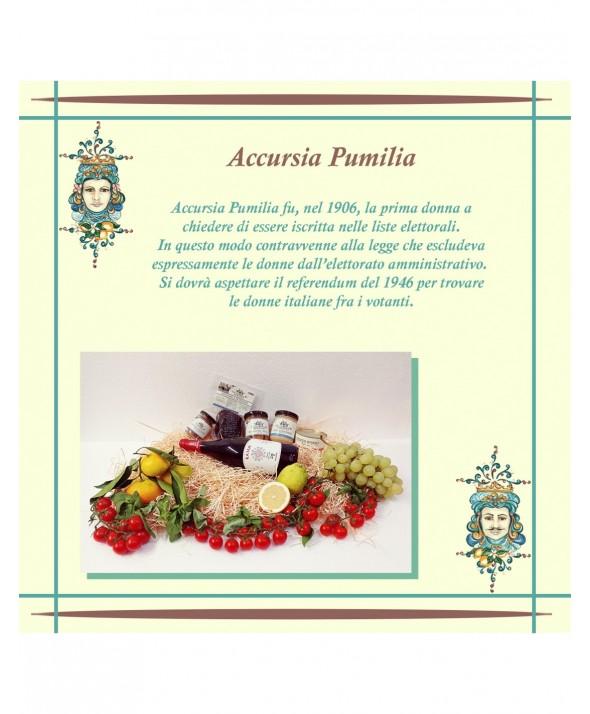 """CONFEZIONE REGALO - """"Accursia Pumilia"""""""