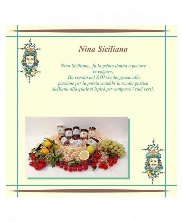 """CONFEZIONE REGALO - """"Nina Siciliana"""""""