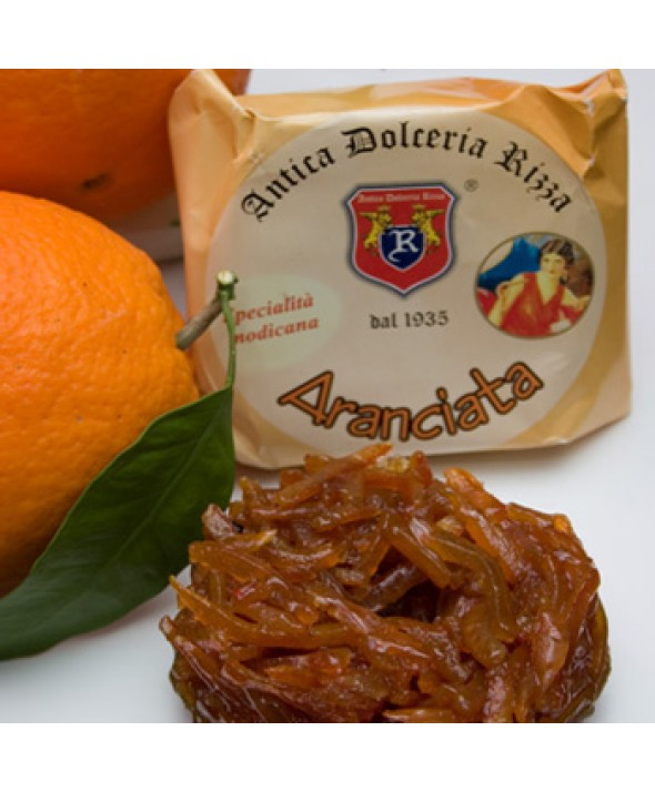 Aranciata (scorze di arancia e miele)